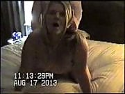 Blonde milf looks at the camera while getting fucked
