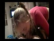 Pigatiled blonde slut gives her man a spectacular pov amateur blowjob