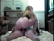 Nasty blonde temptress gets her cunt banged cowgirl style into heaven