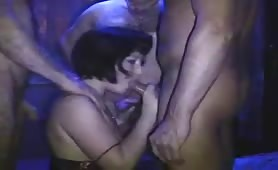 Brunette Takes Cocks in All Her Holes
