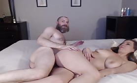 Older Guy Slams a Younger Cunt on Cam