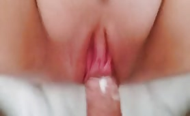 Bald Pussy Takes Two Creampies