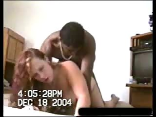 Curly chick gets fucked by her black partner