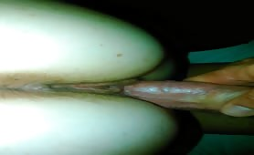 An Erect Cock Slides Into a Pussy Hole