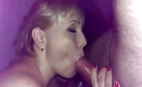 Blonde Stuffed From Both Ends