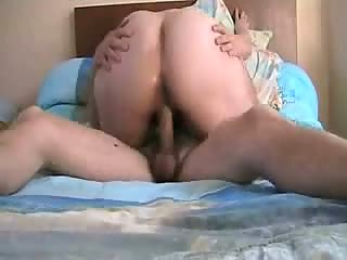 Old woman with huge ass fucked
