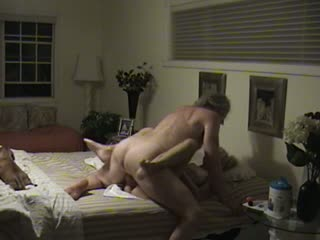 Blonde grandmother fucked