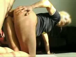Mature Blonde MILF Wrecked