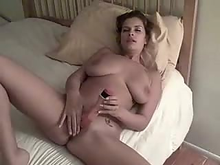 Taping girlfriend enjoying her dildo