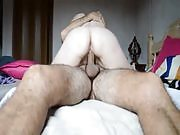 Cuckold loves white and well curved hot babe