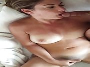 Morning Masturbation and Blowjob