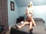 Pregnant Blonde Gets Creampied