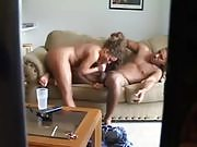Couple Mastering Oral Sex at Home