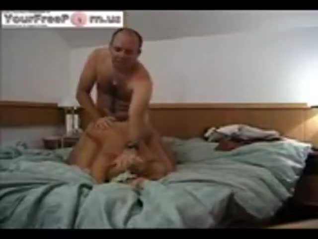 Man fucking blonde wife