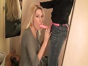 Naughty Girls Fucking With a Strapon in a Dressing Room