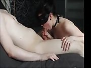 She Sucks Cock With Her Eyes Covered