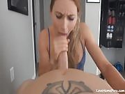 Awesome Blowjob from Cheating Girlfriend