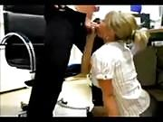 Secretary Gets Fucked by Her Boss on the Table