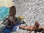 Beach Voyeur Couple fucking