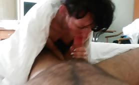 Hairy Cunt Filled From Behind