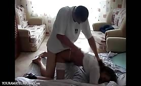 Hot Home Nurse Forced to Fuck