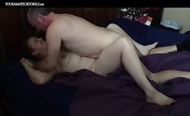 Older Guy Bangs a Curvy Youngster