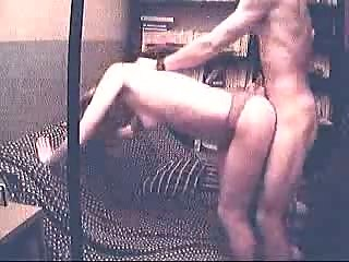 Older sextape of horny blonde wife fuck