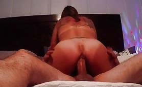 Juicy Ass Fucking Cowgirl Style