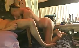 Blonde Bombshell Ass Drilled After Rimjob