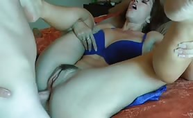 Ass Drilling and a Generous Cumshot