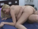 Blonde hot amateur chick having sex with her boyfriend