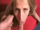 Really hot blonde wife sucking and fucking wildly.