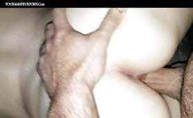 Tiny Wet Pussy Stretched With a Hard Cock