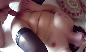 Mature Whore Gets Double Fucked