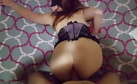 Girl in Corset Gets Butt Fucked