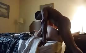 Cheating with black dick in a hotel