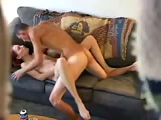 Redhead hottie secretly taped fucking