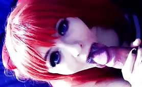 Redheaded Doll Deepthroats Dick