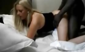 Exclusive Blonde Takes a BBC