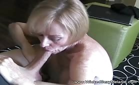 Family's Cum Whore Offers Sex to Her Son