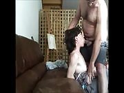 Mature couple records their sex session
