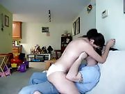 Wife Sits on Her Husband's Face