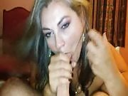 Mature Lady Gives Head and Swallows