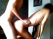 Rough Doggy Pounding on a Chair