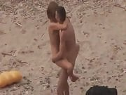 Amateur Fuck on a Nudist Beach