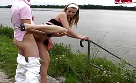 Taken by the Lake for Pounding