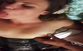 Whore's Mouth Ravished by Multiple Cocks