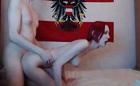 Edgy Redhead With Porcelain Skin Whores Out