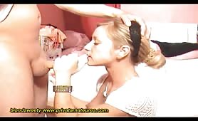Blonde Fucks All Her Holes Before Real Fucking