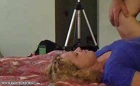 Mature Blonde Pounded Missionary